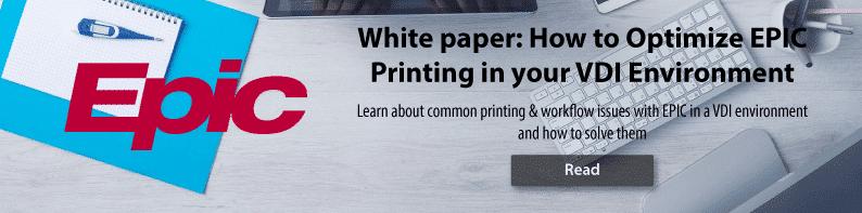 White Paper Epic EMR Printing