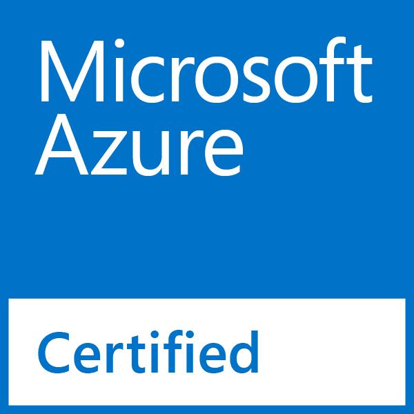 Logo Microsoft Azure Certifié