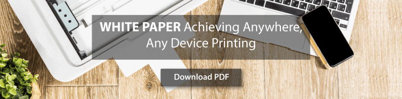 white paper anywhere any device printing