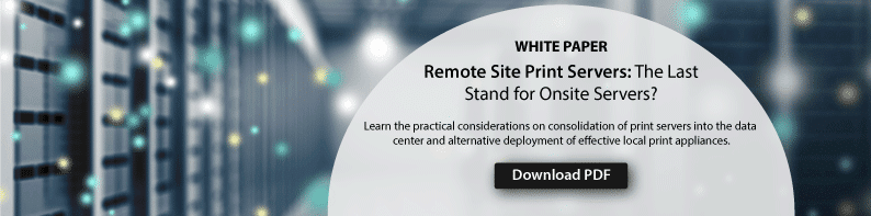 white paper remote site print servers