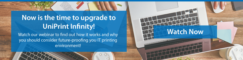 Webinar why you should upgrade to uniprint infinity