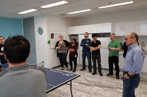 uniprint ping pong tournament