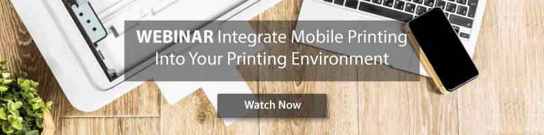 webinar how to integrate mobile printing into your environment