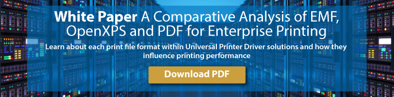 UniPrint white paper print file formats