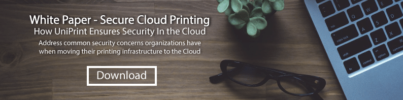 Secure Cloud Printing white paper
