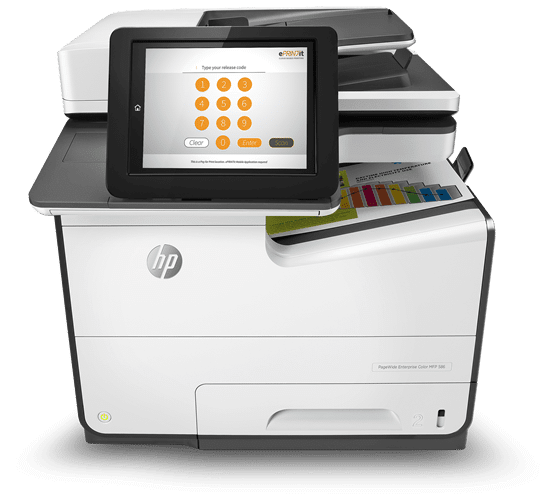 eprintit hp OXP printer release station