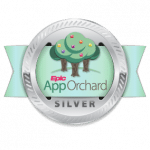 UniPrint Infinity App Orchard Badge (Silver)