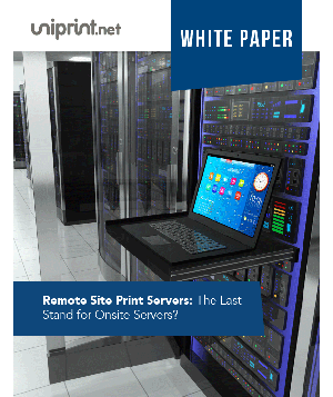 Remote Site Print Servers: The Last Stand for Onsite Servers?