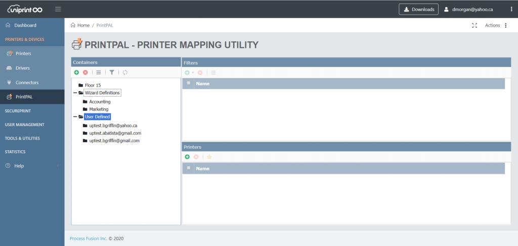 print serverless printing uniprint infinitycloud